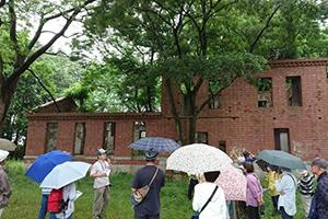 当会協力、市民活動センター主催「女化、歩く歴史講座」